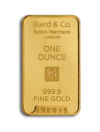 Baird gold investment bar 1 ounce buy online