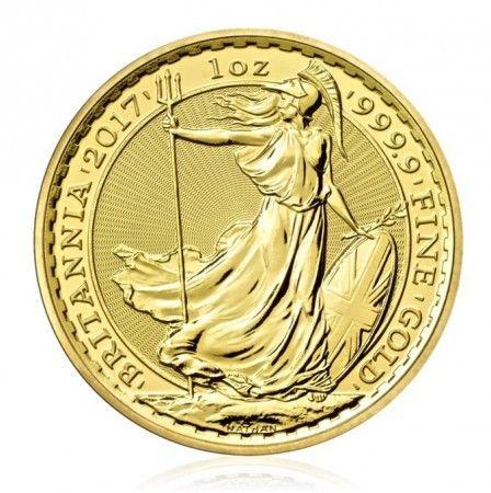 Britannia gold 1 ounce coin year 2016 rear image