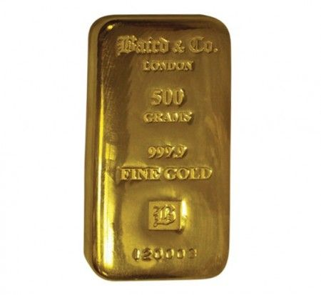 Baird gold cast bar 500 grams buy online