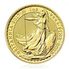 1oz Gold Britannia - Various Years