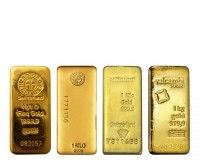 1 Kilo Gold LBMA Good-Delivery bars