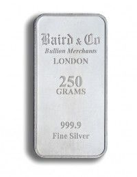 Baird Silver investment bar 250 grams buy online