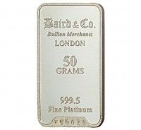 Baird Platinum Investment bar 50 grams buy online