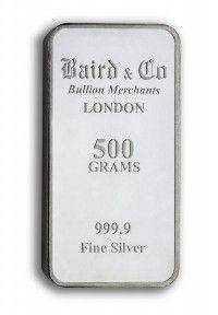 Baird Silver Investment bar 500 grams buy online