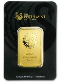 Perth Mint 10oz Gold Minted, buy online with Indigo
