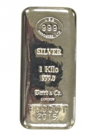 JBR Branded Silver Kilo Bar, Most Competitive Physical Silver In The Market
